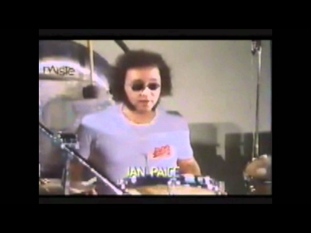 Ian Paice talking about Sticks, Paradidles and Soloing