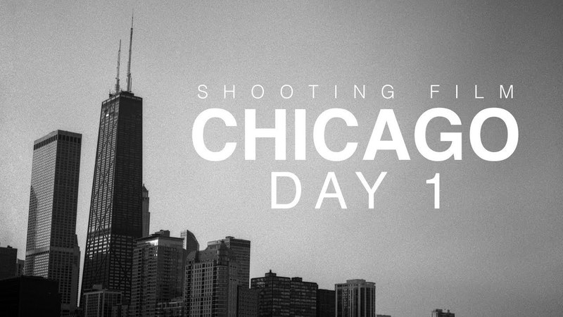 Shooting film Chicago Day 1 ~ Bronica SQ Ai HP5