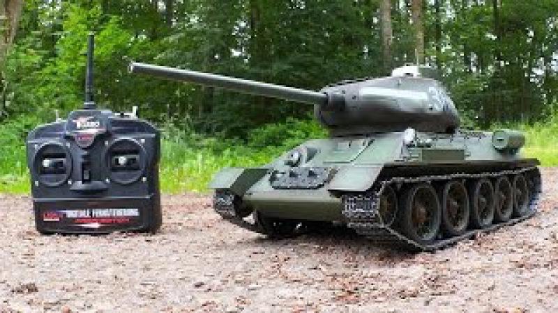 Torro T 34 85 RC Panzer 2 4GHz 1 16 von Torro Testbericht Testfahrt