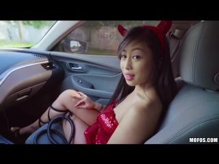 Jade kush - big asian tits in sexy costume [all sex, hardcore, blowjob, gonzo]