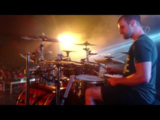 Matt Greiner FULL SET Drum Cam - August Burns Red - Phantom Anthem Tour 1-23-18 3/4
