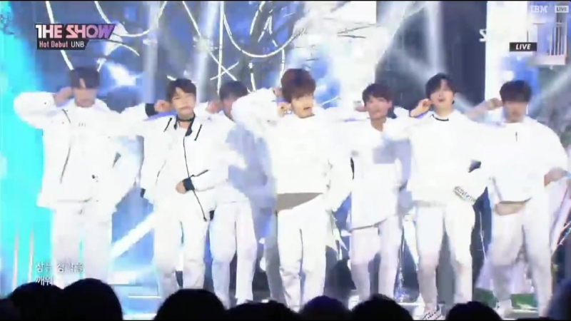 180410 THE SHOW Hot Debut UNB 유앤비 OnlyOne Feeling 감각