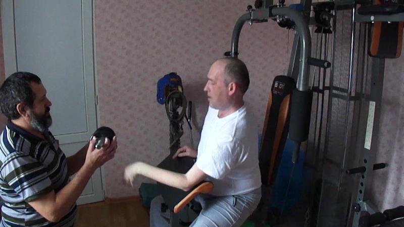 2 й подход Бицепс на парте Экстемальная нагрузка курса Дистрофия мышц рук