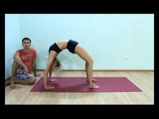 Аштанга йога для начинающих.   Урок № 39. Урдхва Дханурасана