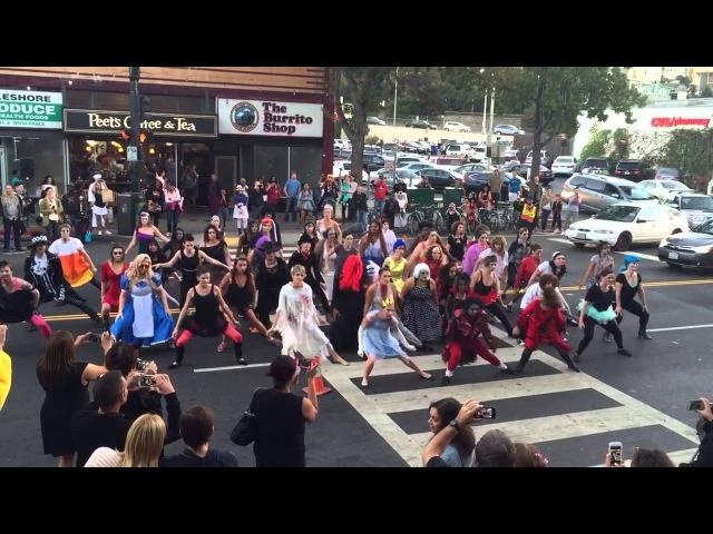 Thriller Flash Mob Halloween 2015 Lakeshore Ave Oakland CA