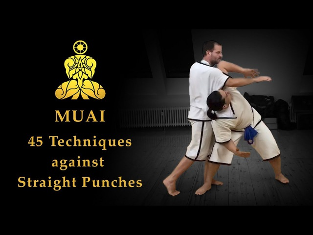 MUAI - 45 Techniques against Straight Punches (The original Muay Boran)