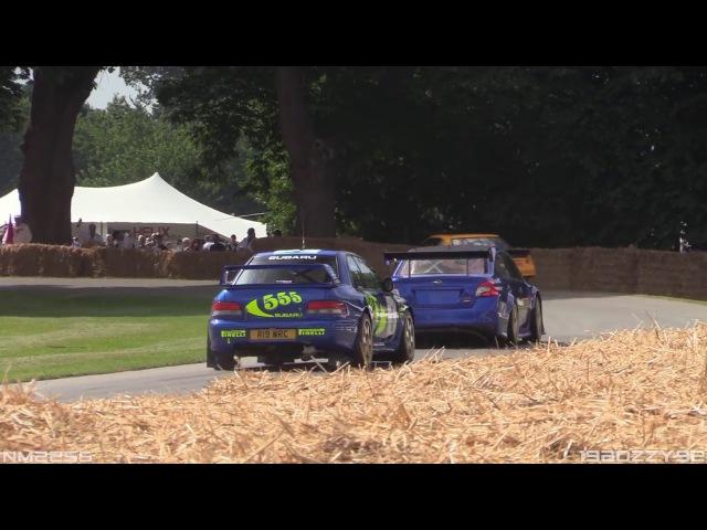 Subaru WRX STi Type RA NBR Special - Mark Higgins FLATOUT at Goodwood Hillclimbyoutube com