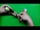 Dao cắt băng keo làm bằng thùng giấy tape cutter dispenser