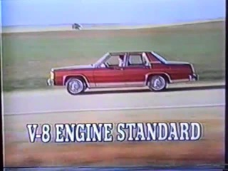 1979 Ford LTD car TV commercial