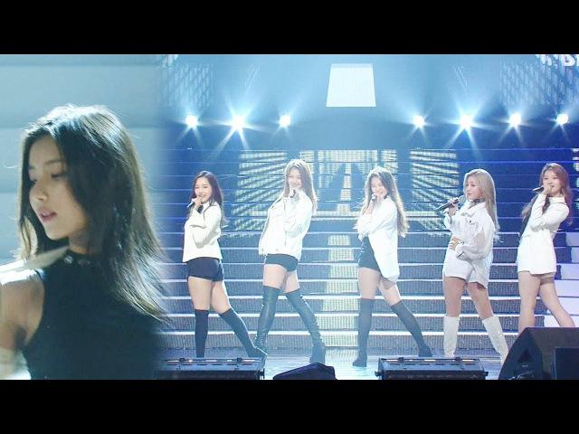 민아리·퀸즈 K팝스타6 걸그룹 완전체 합동무대 'Problem' @K팝스타 렌즈 20170625