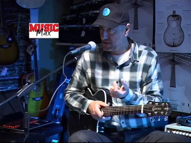 CRAFTER Thinline acoustic electric guitar CT 120 TBK Vlatko Stefanovski