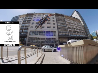 Raw Footage From The Streets Of Argentina! - Ep. 27 Kink BMX Saturday Selects // insidebmx