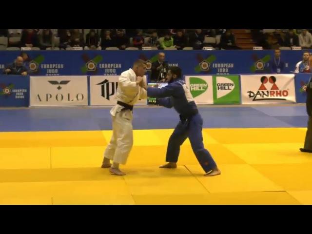 European Judo Open Sofia 2018 CHASYGOV Ismail Russia TEMELKOV Bozhidar Bulgaria