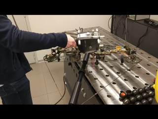 Сканирование блочного лука динамическим лазерным сканером