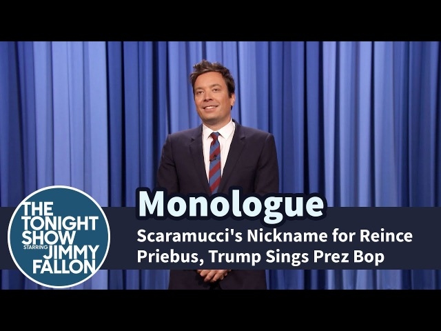 Scaramucci's Nickname for Reince Priebus Trump Sings Prez Bop Monologue
