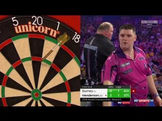 Daryl Gurney vs John Henderson (PDC World Darts Championship 2018 / Round 2)
