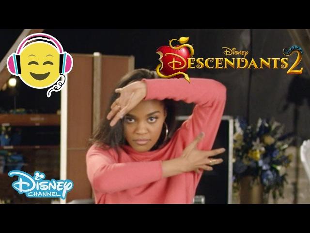Descendants 2 What's My Name Dance Tutorial Official Disney Channel UK