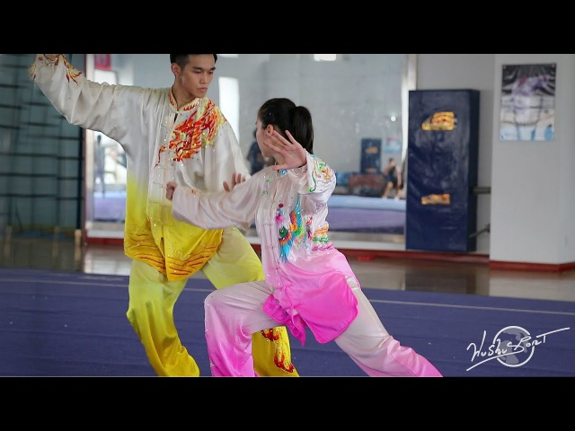 Mixed Doubles Taiji by the Shaanxi Team