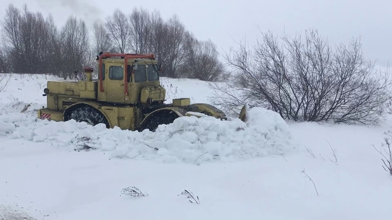 К700 - Снег не помеха!