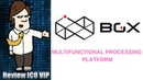 BGX Review ICO – Multifunctional Processing Platform