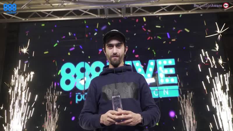888pokerLIVE Лондон - за 1 минуту
