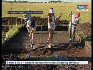 На раскопках памятника археологии «Большая Таяба» исследователи находят много интересного