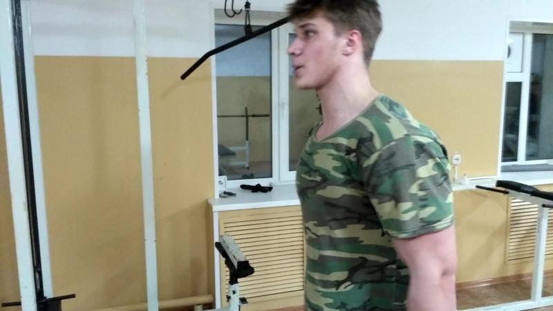 15.04.2018, Алексей Халявин, попеременные молотки