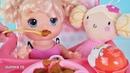Куклы Пупсики Беби Элайв и Baby Born кушают кашу и киндер Джой, открывают сюрпризы. Зырики ТВ