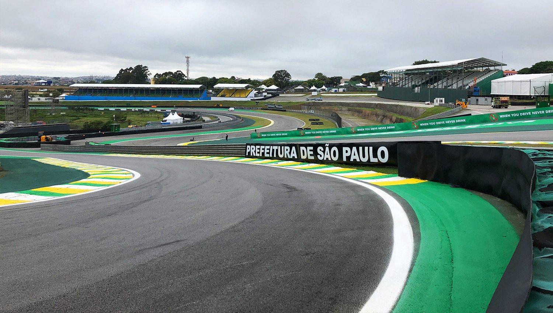 Автодром Интерлагос в Бразилии