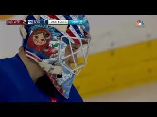 Alexandar Georgiev Slides Across And Robs A Wide Open John Carlson
