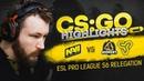 CSGO Highlights NAVI vs Space Soldiers GODSENT @ ESL Pro League S6 Relegation