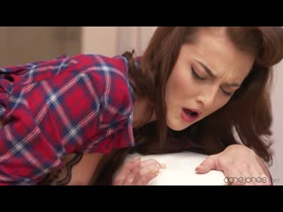 Katy rose (hard fast passion fuck and creampie) [brunette, blowjob, cowgirl, dog