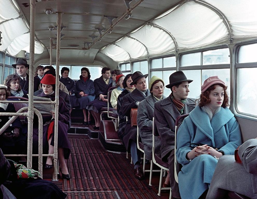 Утро, Икарус, Будапешт, 1958 год.