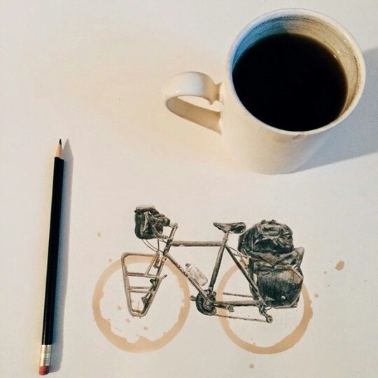 Картинки доброе утро на велосипеде