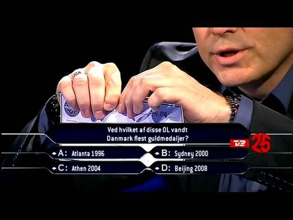 Промо Hvem vil være millionær? (Дания, 2012)