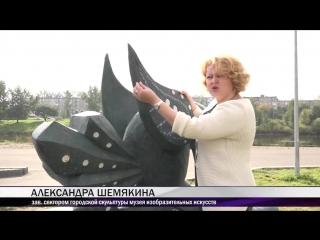 В парке Народныи вандалы повредили новые скульптурные композиции