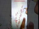 Viết chữ nghệ thuật đẹp trên giấy
