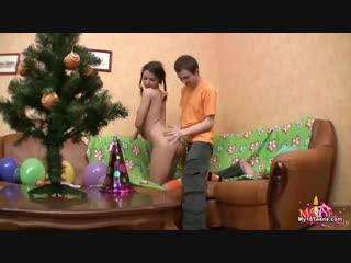 Бышие одноклассники трахаются на новогодней вечеринке (новый год, русское, порно, секс, russian, student, party, pizdoi.com)