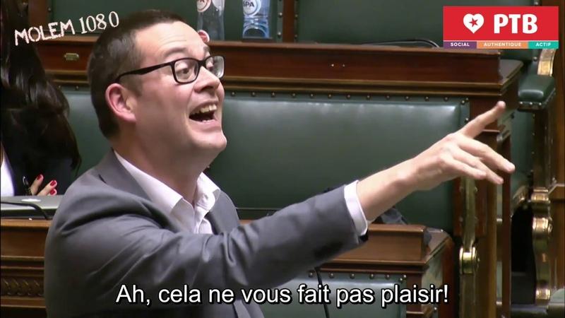 Raoul hedebouw Gilets jaunes Macron a dû reculer Charles Michel a la chiasse