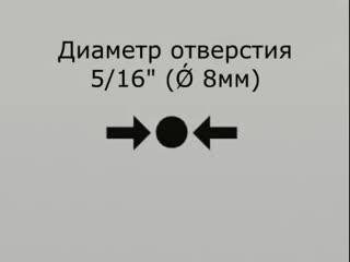 Монтаж различных дюбeлeй