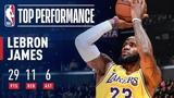 LeBron James SHINES Against Houston February 21, 2019 #NBANews #NBA #Lakers #LeBronJames