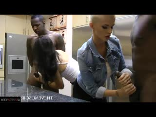 Scarlet banks & joslyn james [ masturbation & negros & young / with blacks, black women, sex in clothes, jerking off a guy]