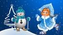 Зимушка хрустальная - детская песня Зима