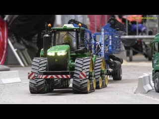 Stunning RC Tractors work hard! Awesome farming in 1_16 scale!