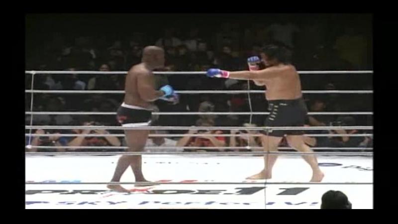 Yoshiaki Yatsu vs Gary Goodridge