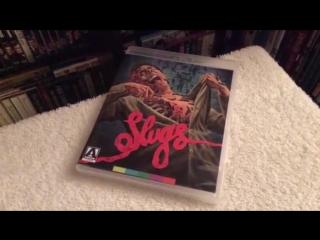 Slugs & vamp ↑ arrow uk edition blu-ray unboxing