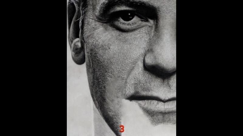 Sobhan в Instagram A short slideshow of adding details on cheek skin georgeclooney art artworks portrait drawing pencil