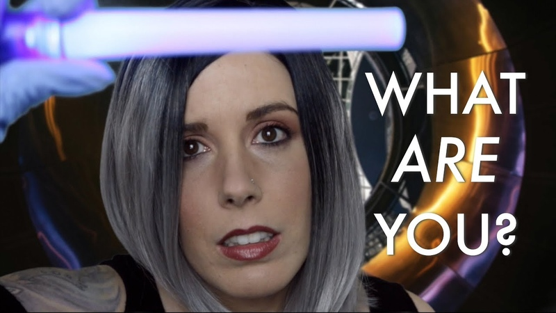 🔧FIXING YOU 2👽: Sci-Fi ASMR Medical Exam Role Play (feat. Personal Attention, Otoscope, Light)