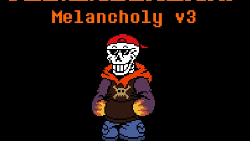 Team Showdown: Underswap | Melancholy v3 | ask before use | TSD!Underswap Papyrus Theme | OFFICIAL