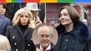 0bs.èques de Michel Legrand : l'émotion de sa veuve Macha Méril soutenue par Brigitte Macron